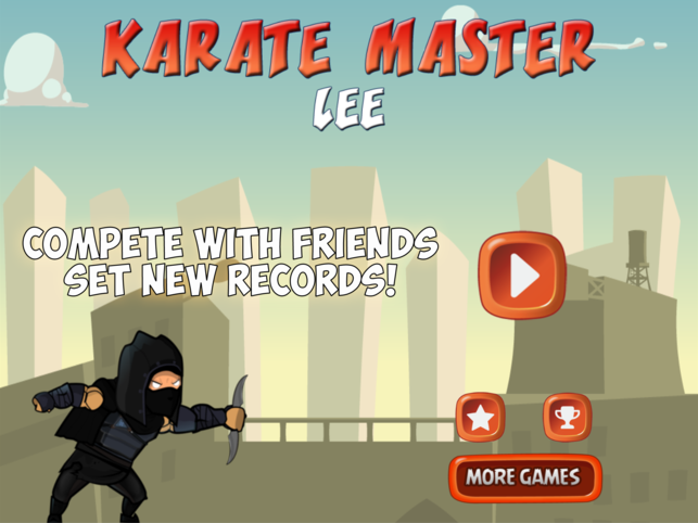 Karate Master Lee - Run for the Kung Fu Belt Screenshot