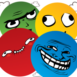 Memes and Trolls Tube Game