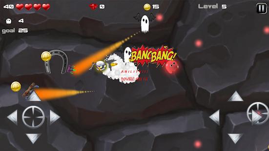 Fun with Gun - dope Bro busting rabid granny ghost Screenshot