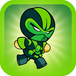 Killer Robot Game - Green Ninja Version
