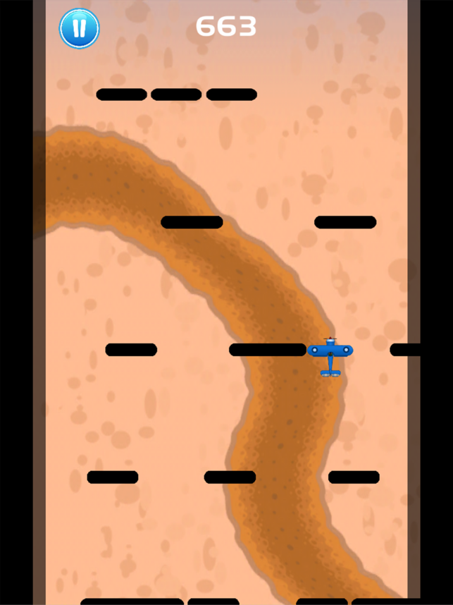 Survival War Plane - Fly Through Obstacles Screenshot