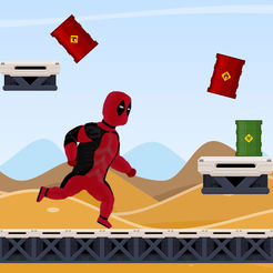 Superhero Run - Deadpool Adventure Version